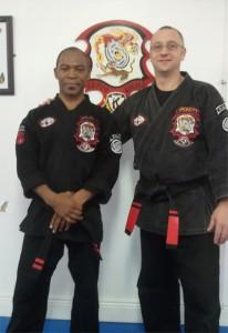 Belmond Moukoudi et Ger Hickey, 6e degré